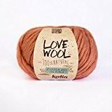 Love Wool, épais Mèche de fil de Katia dans saumon (111)