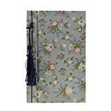 LY Carnet de Croquis Filé Sketbook Cahier Blanc à Dessin Journal Intime Bloc-Notes Carnet de Voyage Couverture Rigide Style Elégant ...