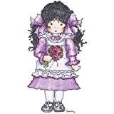 "Madeline-Stampavie Sarah Kay Clear Stamp 3-1/2 """