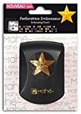 Mahé OPE21 Mini Perforatrice embosseur Motif Etoile Plastique Noir 10 x 15 x 7 cm