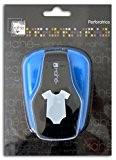 Mahé OPXD17 Grande perforatrice motif Body Plastique Noir 12 x 17 x 7 cm