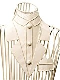Mannequin de couture/de présentation - homme - fer forgé/métal - blanc