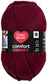 Manteaux fil acrylique Coeur Rouge Confort Chunky Yarn-Claret