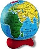 Maped Boîte de 10taille-crayons 1trou en forme de globe terrestre Présentoir inclus