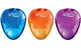 "MAPED Taille-crayons "" I.Gloo"" 2 trous Jaune, Violet OU Bleu"