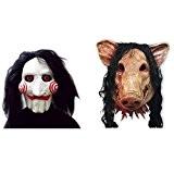 Masque d'horreur Pour déguisement, Halloween, carnaval, Mardi gras et fêtes