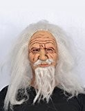 Masque latex vieux sorcier adulte