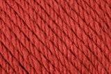 Maxi de laine mérinos 100 g - 40 cm-coloris :  terracotta-douce schnellstrickgarn d'épais meinoanteil un très haut.