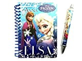 Maxi&Mini - FROZEN LA REINE DES NEIGES SET BLOC NOTES CARNET A SPIRALES A6 + STYLO A BILLE