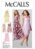 McCalls 6508 Patron de couture femme Grandes tailles :  30, 4-35,5 16-18-20 usure