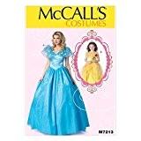 McCalls Mesdames et filles 7213Patron de Couture Princesse Bal Costume + sans Minerva Crafts Craft Guide