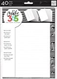 Me & My Big Ideas Create 365 Happy Planner Feuilles de papier quadrillé 17,8 x 23,5 cm
