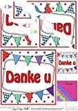 Merci de fanions néerlandais ondulée Par Carol Clarke International Rangement d'angle