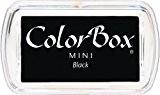 Mini ColorBox Pigment tampon encreur noir