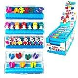 Mini Gommes animaux Caoutchoucs Assorted Designs - Papeterie de Fun Enfants