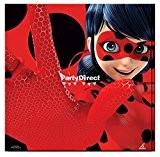 MIRACULOUS - Serviettes papier anniversaire Ladybug set de 20