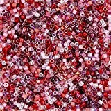 MIYUKI Delica Perles Taille 10Mix Strawberry Fields 7,2g