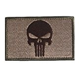 MMRM Swat Punisher Crâne Militaire Patch Tactique Bande de Style Armée Badge Brassard - Sol