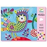 Mosaiques Oiseau et coccinelle Art au numero de Djeco pour enfants dès 4 ans