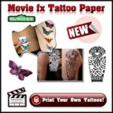 Movie fx Papier Transfert Tatouage Decalcomanie - Décalco Tattoo 5 A4