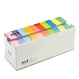 Mt Washi Masking Tapes Set of 10 - Bright Colors