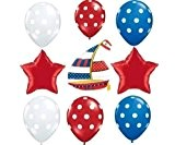 Nautical Sailboat Party Balloon Decoration Set by Nautical Party Supplies