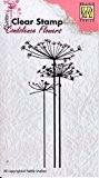 Nellie Snellen Clear Stamps CSCF001 Tampons fleurs condoléances