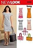 New Look 6095 Patron de couture pour robe Tailles 36-38-40-42-44-46-48