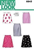New Look 6843 Patron de couture pour jupes Taille 36 au 46