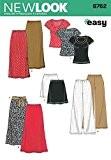 New Look Patron de couture pour femme - 6762-Tailles :  XS, S, M, L, XL)