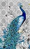 niceEshop(TM) 3D DIY Peinture de Diamant Résine avec Style de Paon pour la Décoration de Chambre et de Salon (Bleu, ...