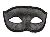 Noir Masque de mascarade Masque Halloween Costume pour hommes et femmes