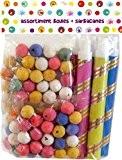 Non Concerne - 440218 - Kit De Fête - 5 X 20 Boules + 5 Sarbacanes Métallisées Avec Embout