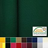 Oeko-Tex® Gabardine - tissu très robuste en coton et polyester - au mètre (vert sapin)