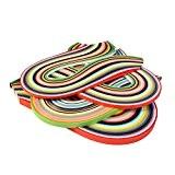 Outus 26 couleurs 1040 Frises Papier Quilling Sets Bandes pour Quilling Papier Quilling Outil, 3/ 5/ 7/ 10 mm, 4 ...