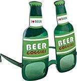 P'TIT CLOWN 35101 Lunettes Plastique - Bouteille de Bière - Vert
