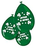 P'TIT Clown re79402, Sachet de 10 ballons 25 cm Joyeuse St Patrick
