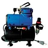 PAASCHE d3000r 1/8HP Compresseur avec réservoir, régulateur et à l'humidité