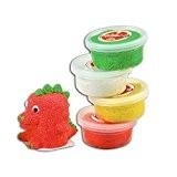 Padaboo PMZ803 Assortiment de 4 pots Pâte à modeler Multicolore 17,5  x  21  x  4 cm