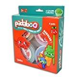 Padaboo PMZ809 Assortiment de 4 pots Pâte à modeler Multicolore 17,5  x  21  x  4 cm
