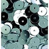 Paillettes Rondes Plates, Ø 6 Mm, Boite De 500 Pièces - Neuf