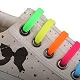 Paire Lacets de Chaussures Enfants en Silicone Elastique sans Laçage - Multicolore, taille unique