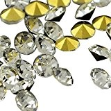 PandaHall- Cristal Strass Decoration de Vetements en Verre en Forme de Diamant; 2.7~2.8mm, 200pcs