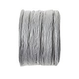 Paper raphia - 4mmx20m - gris - la bobine