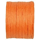PAPIER RAPHIA ORANGE 20M