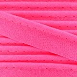 Passepoil 10 mm Rose Fluo x1m