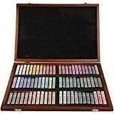 Pastels tendres Gallery Set, épaisseur 1 cm, L: 6,5 cm, Couleurs assorties, 72assortis