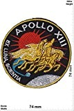 Patches - Apollo 13 - Apollo XIII - NASA - Space - Patches - Applique embroidery Écusson brodé Costume Cadeau- ...