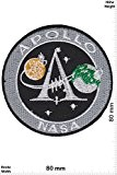 Patches - Apollo - NASA - Space Patch - Weltraum - Astronaut - Patches - Applique embroidery Écusson brodé Costume ...