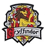 PatchWOW Écusson patch brodé à coudre ou repasser Harry Potter Poudlard Gryffondor